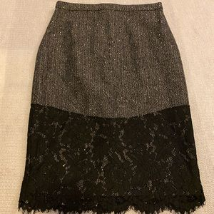 J.Crew Skirt Lace Detail